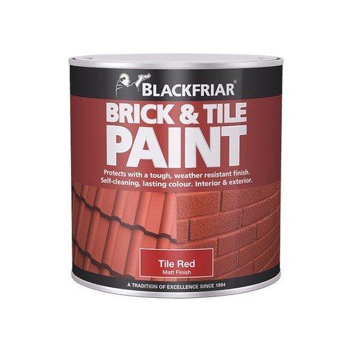 Blackfriar BF0160001F1 Brick & Tile Paint Matt Red 250ml