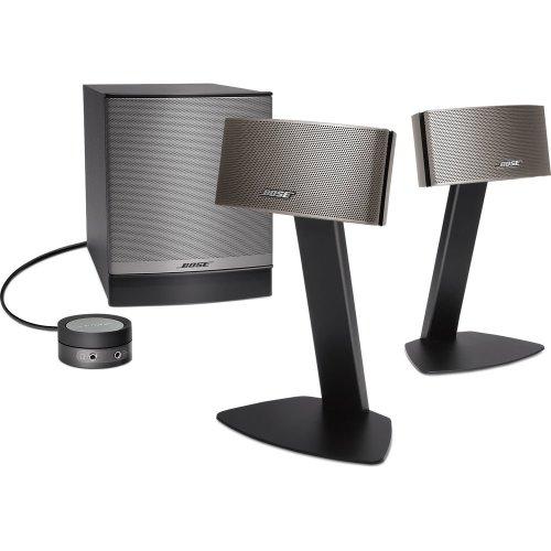 BOSE Companion 50 2.1 PC Speakers - Silver, Silver