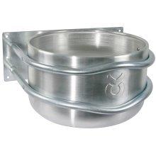 Kerbl Feed Bowl 18 L Aluminium Silver 32495