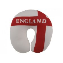 England Design Spandex Neck Cushion - St George Football Travel Plane Sleeping -  england design spandex neck cushion st george football travel plane