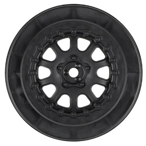 Pro-Line Racing PRO272703 Pro Trac Renegade Wheels - Black - 2.2 & 3 in. - Pack of 2