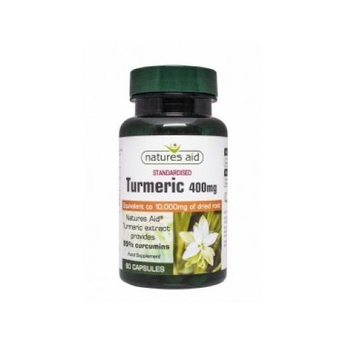 Natures Aid Turmeric 10 000mg - 60 Capsules