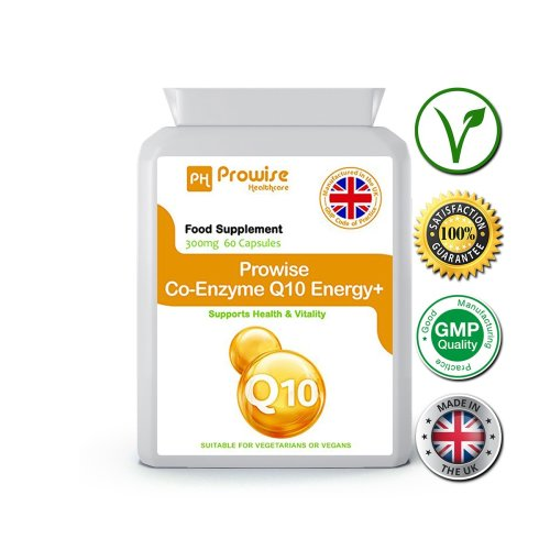 Prowise Co-Enzyme Q10 60 Capsules 300mg UK Made