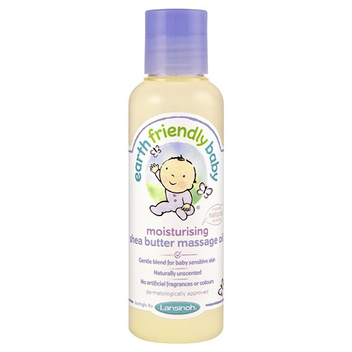 Earth Friendly Baby 15% off Shea Butter Massage Oil 125ml Eco Cert