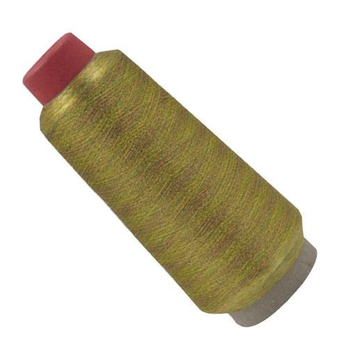 [Colorful Gold] Embroidery Thread Machine Embroidery Thread Sewing, 3000 Meters