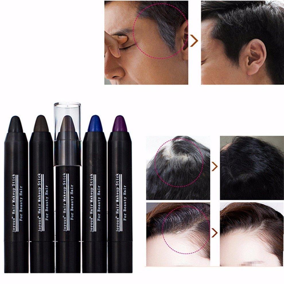 4 Colors Temporary Quick Cover Gray Hair Color Pen Stick Men Women