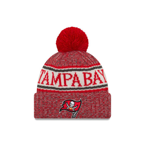 17e8a5908c494 New Era Knitted Onfield Sport Beanie ~ Tampa Bay Buccaners