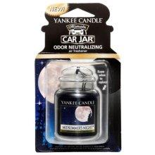 "Yankee Candle ""Midsummer Night"" Ultimate Car Freshener Jar, Black"