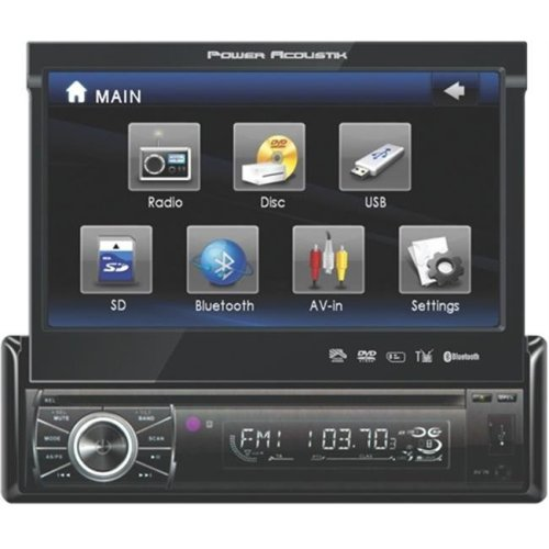 Power Ptid8920b 7 In Touch Screen Bluetooth Usb Sd Car Video Player