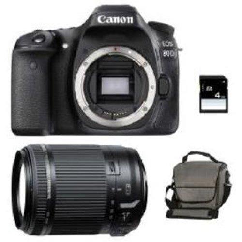 CANON EOS 80D + TAMRON 18-200mm F3.5-6.3 Di II VC