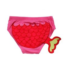 Lovely Carp Tail Baby Infant Rose Swim diapers/ Swim Brief, L Size