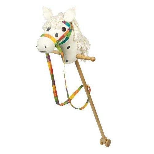 GoKi Wooden Hobby Horse (White)