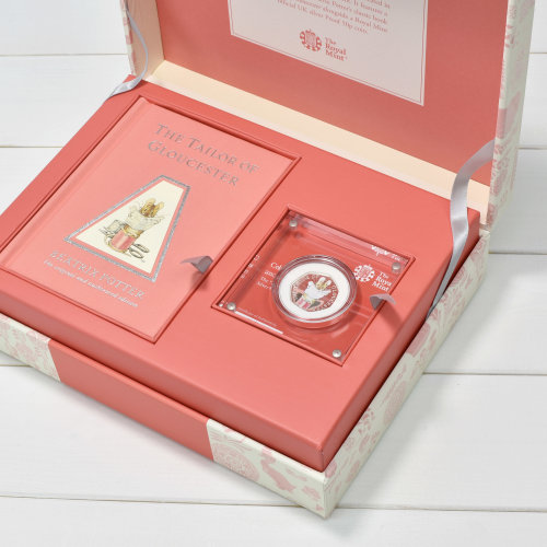 Tailor of Gloucester Royal Mint Silver Proof Coin & Book Set