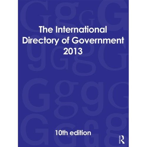 The International Directory of Government 2013