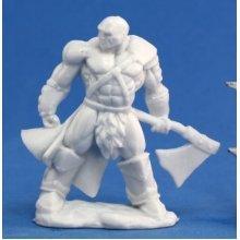 Reaper Bones Goldar, Male Barbarian