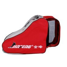 Rollerblading Gear Triangle Skates Bag With Advanced Single Shoulder Red