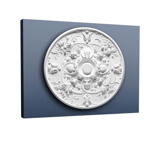 Orac Decor R24 LUXXUS Ceiling Rose Rosette Medallion | 79 cm diameter