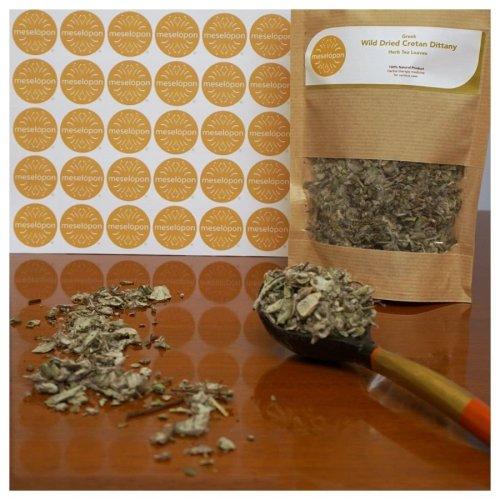Greek Wild Dried Cretan Dittany Herb Tea Leaves 100gr / 3.52oz
