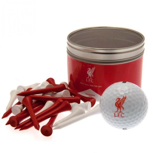 Liverpool FC Ball And Tee Set