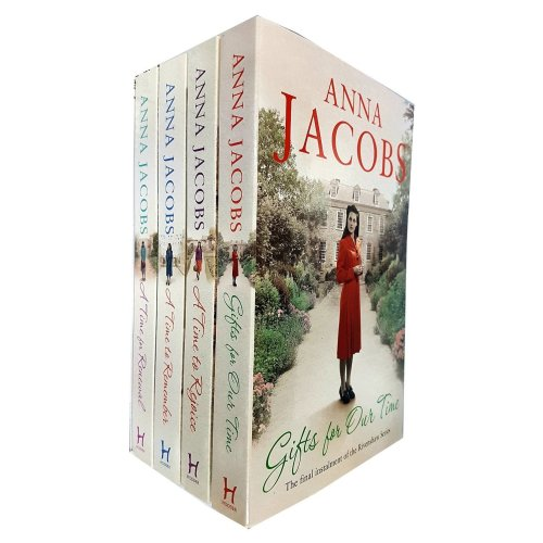 Anna Jacobs collection 4 books set