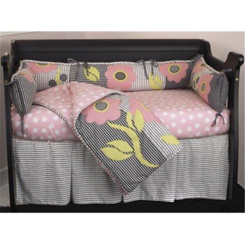 Cotton Tale PY4S Poppy 4 Piece Crib Bedding Set