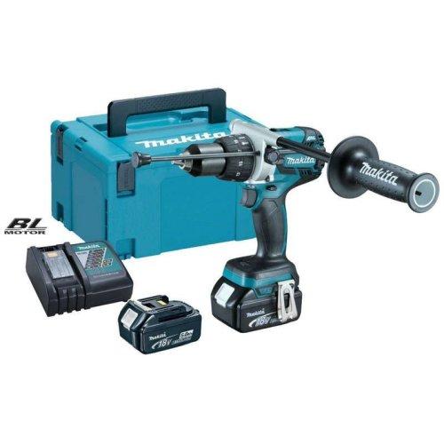 Makita DHP481RTJ 18v Brushless Combi Drill (2x 5.0ah Batteries)