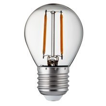 Pack 10 X Golf Ball E27 Dimmable Filament LED Lamps