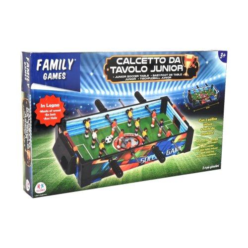 Globo Toys Globo - 36608 50.5 x 31 x 10 cm Legnoland Wooden Soccer Table
