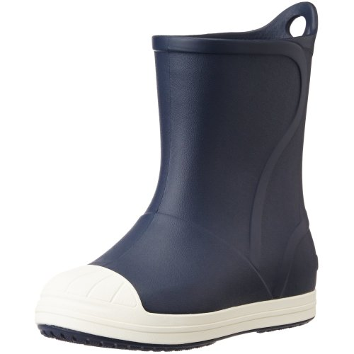Crocs Bump It Boot Kids Rain, Blue (Navy/Oyster), 7 UK Child (C7 US)