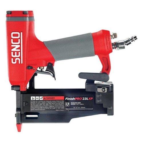 Senco 2615995 23 gal FinishPro 23LXP Pneumatic Headless Pin Nails Nailer - Red & Black