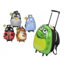 New Egg Shaped Shiny Animal Hard Shell Childs Trolley Case Luggage Suitcase - -  camping beach clearwater chemical chlorine liquid tablets granules