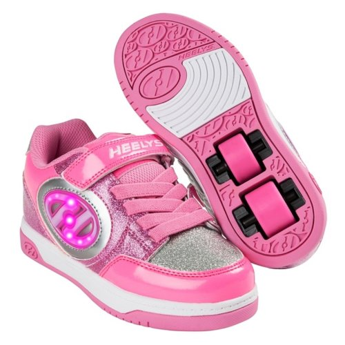 Heelys Girls' Plus X2 Lighted Trainers