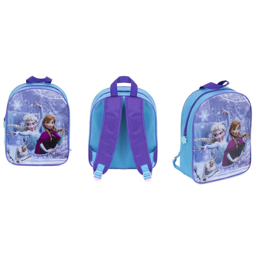 0f2681faf5 ... Disney Frozen Backpack Anna Elsa Olaf Junior School Bag - 1 ...