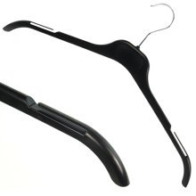 20 Quality Black Plastic Hangers Clothes Coat Shirt Dress Garment 43cm Hangerworld