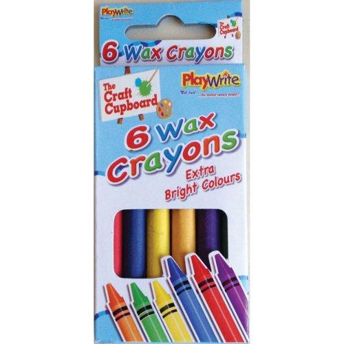 48 Packs of 6 Wax Crayons