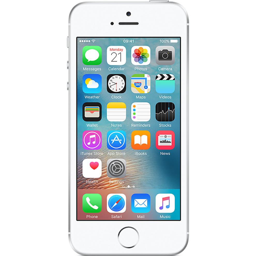 EE, 64GB Apple iPhone SE - Silver