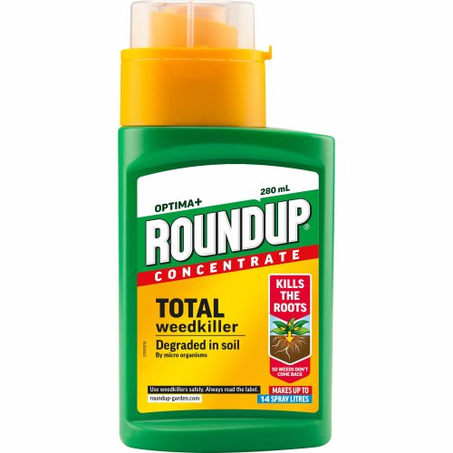 Roundup Optima+ Weedkiller Concentrate Bottle, 280 ml