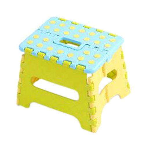 Creative Plastic Foldable Step Stool Portable Folding Stools Stepstool for Kids & Adults, No.1