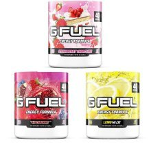 Gamma Labs G-Fuel 40 Serving Tubs 6 Flavours Available