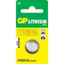 GP Batteries Lithium Cell CR2016 Lithium 3V non-rechargeable battery