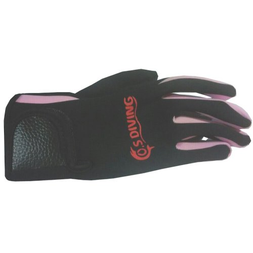 Pink Professional Diving Gloves Dive Necessary Protective Equipment