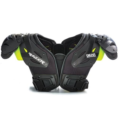 Gear Pro-Tec 1388382 Razor RZ55 Shoulder Pads, Large