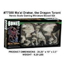 Reaper Bones 77580 Ma'al Drakar the Dragon Tyrant (Boxed Set)