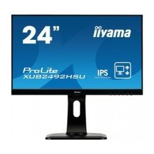 "Iiyama Prolite Xub2492hsu-b1 23.8"" Full Hd Ips Matt Black Computer Monitor Led Display"