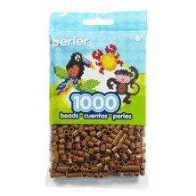 Prl19021 - Perler Beads - 1000 Pc Pack - Light Brown