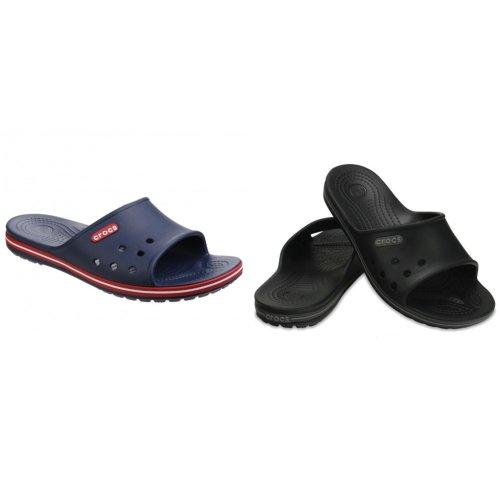 Crocs Mens Crocband II Slide Flip Flops