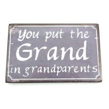 Grandparents Plaque