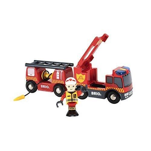 BRIO Rescue Emergency Fire Truck