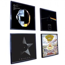 "Record Frame (Black 12"" Single Plastic)"