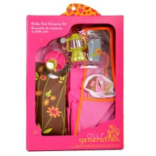 Our Generation Polka Dot Camping Accessory Set